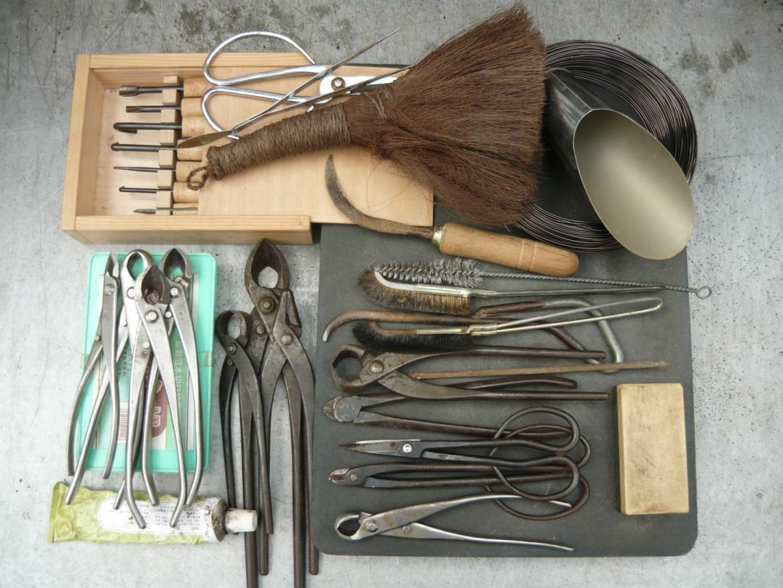 Bonsai- kedvünk szerint- eszközök